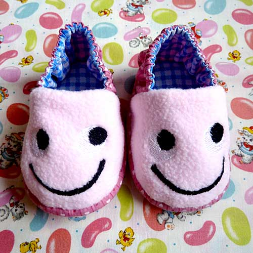 Baby Booties - Impish Monster (7 Colors)