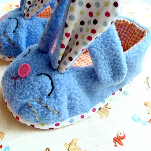 Baby Booties - Chubby Bunny MaryJanes (7 Colors)