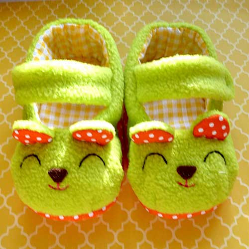 Baby Booties - Beary Bear MaryJanes (7 Colors)