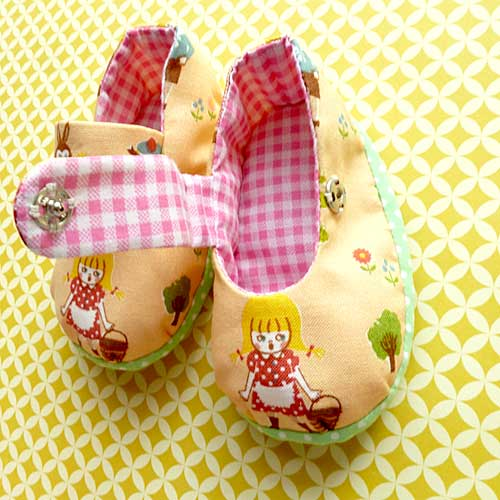 Baby Booties - MaryJanes (Jill And Pail Of Water)