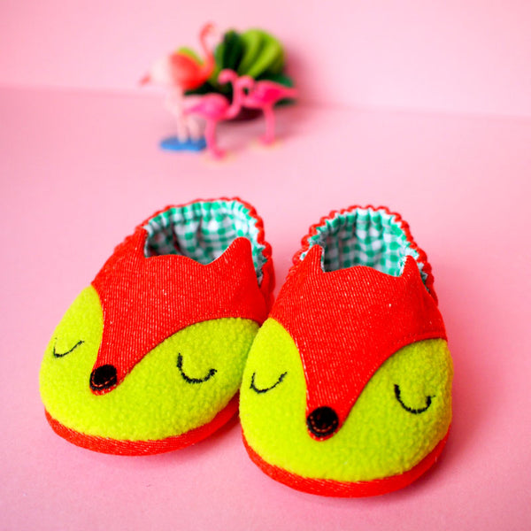 Baby Booties - Fantastic Fox #01
