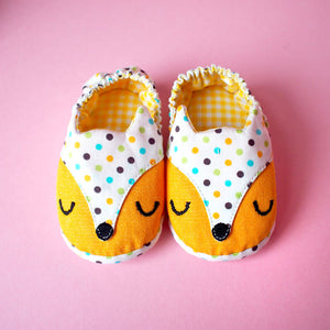 Baby Booties - Fantastic Fox #02