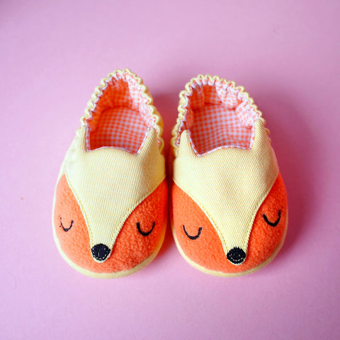 Baby Booties - Fantastic Fox #03