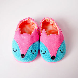 Baby Booties - Fantastic Fox #05