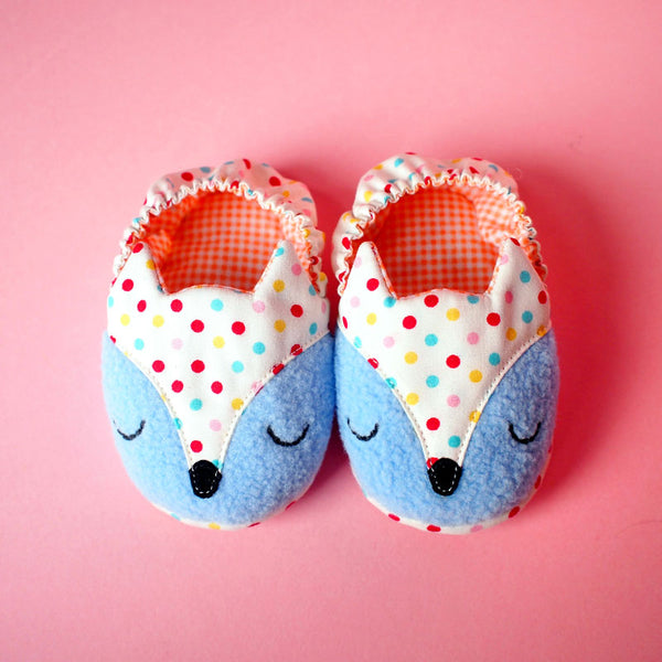 Baby Booties - Fantastic Fox #08 (2 Variants)