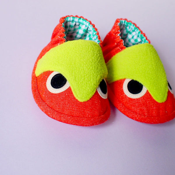 Baby Booties - Hoot The Owl #07