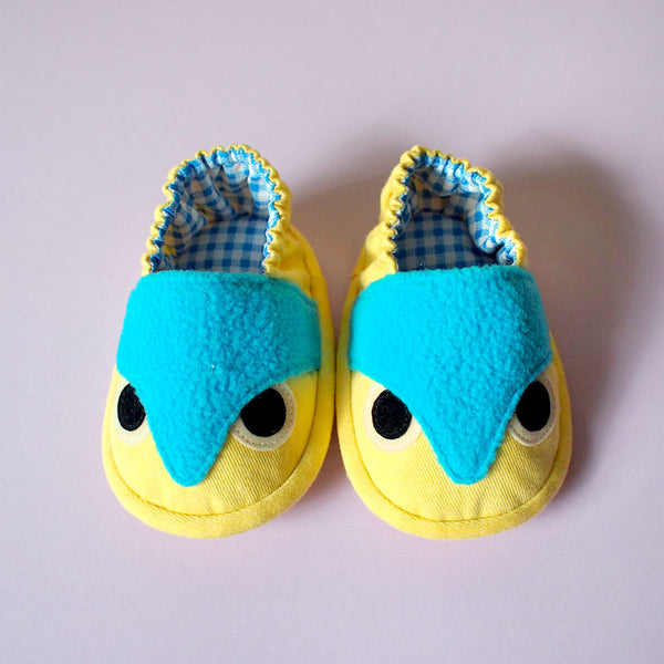 Baby Booties - Hoot The Owl #09