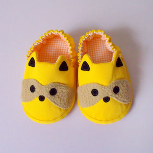 Baby Booties - Bandit Raccoon #05