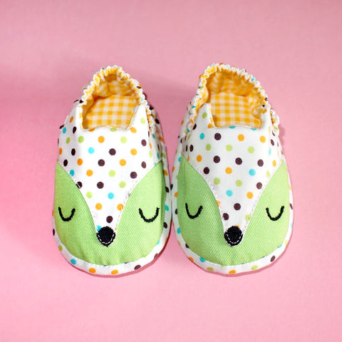 Baby Booties - Fantastic Fox #11