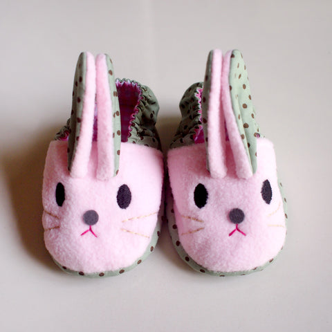 Baby Booties - Chubby Bunny #10 (2 Variants)