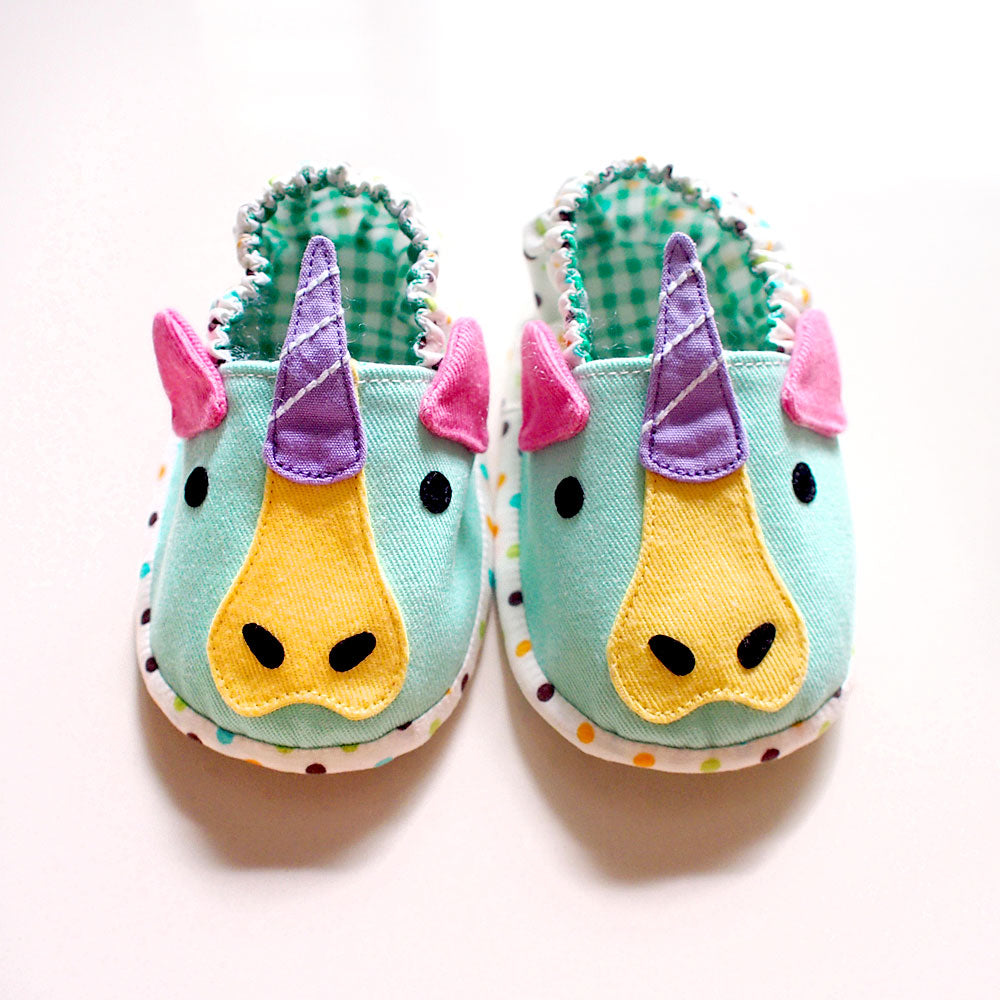 Baby Booties - Magical Unicorn #01
