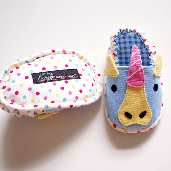 Baby Booties - Magical Unicorn #02