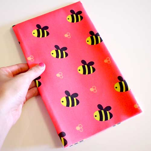 Fat Quarter Fabric - Dotty Busy Buzzy Bees