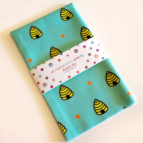 Fat Quarter Fabric - Dotty Beehive