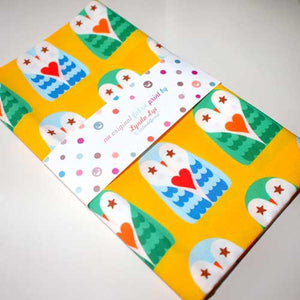 Fat Quarter Fabric - Hoot Love Owls