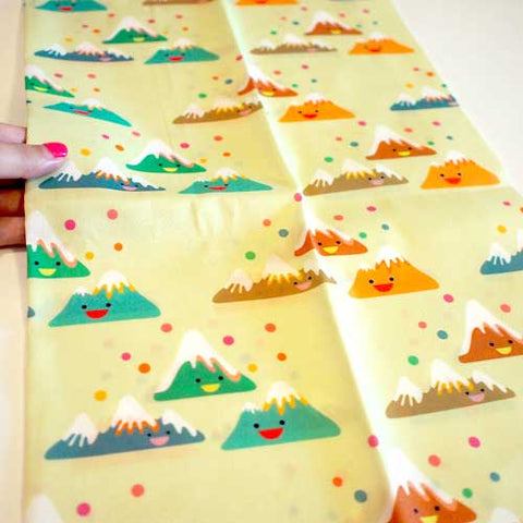 Fat Quarter Fabric - Happy Mountain Friends
