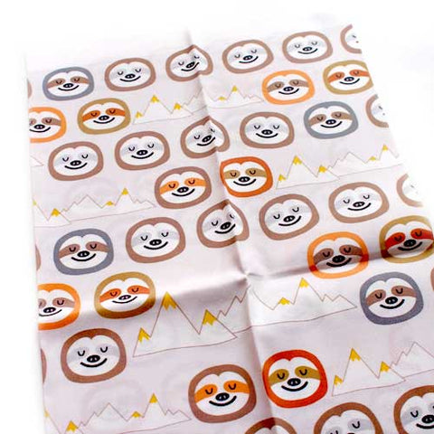 Fat Quarter Fabric - Mountain Sloths