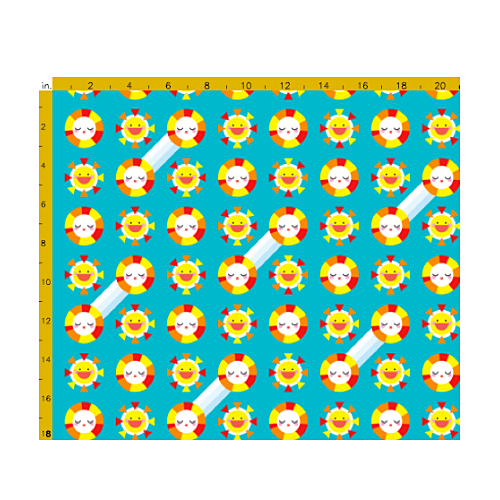 Fat Quarter Fabric - Mister Sunshine