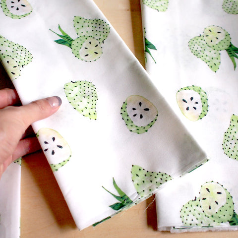 Fat Quarter Fabric - Soursop (Singapore Series)