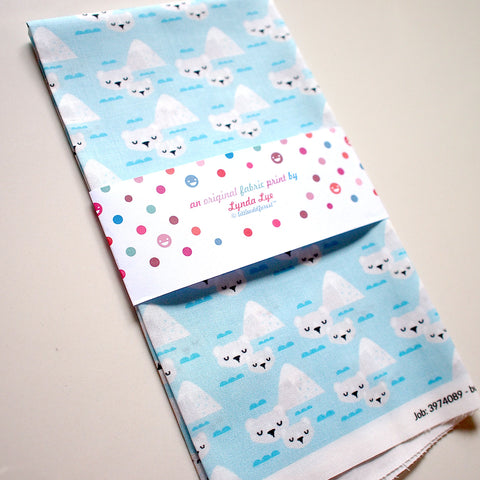 Fat Quarter Fabric - Mother Child Polar Bears