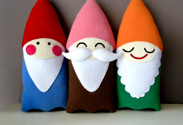 Plush Toy - Smiling Gnome Friend (Bigger)