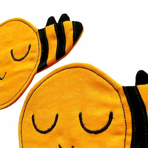 Coasters Set (Pair) - Busy Buzzy Bees (2 Colors)
