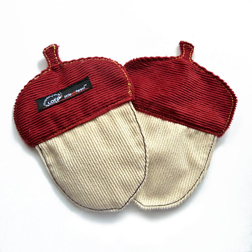Coasters Set (Pair) - Mighty Acorns (3 Colors)