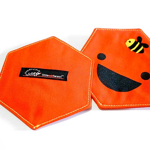 Coasters Set (Pair) - Honeycomb Cell (2 Colors)