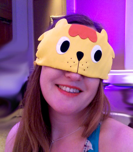 Sleep Eye Mask - Singa Lion (Singapore Series)