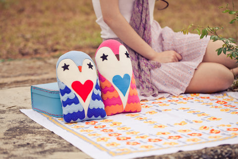 Plush Toy - Love Owl Messenger (2 Colors)