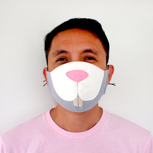 Face Mask - Bunny Rabbit (3 Colors)