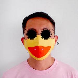 Face Mask - Yellow Duck