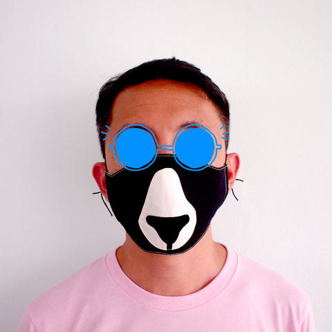 Face Mask - Forest Honey Bear (3 Colors)