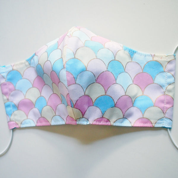 Face Mask (Pocket Insert) ADULTS - Mermaid Scales