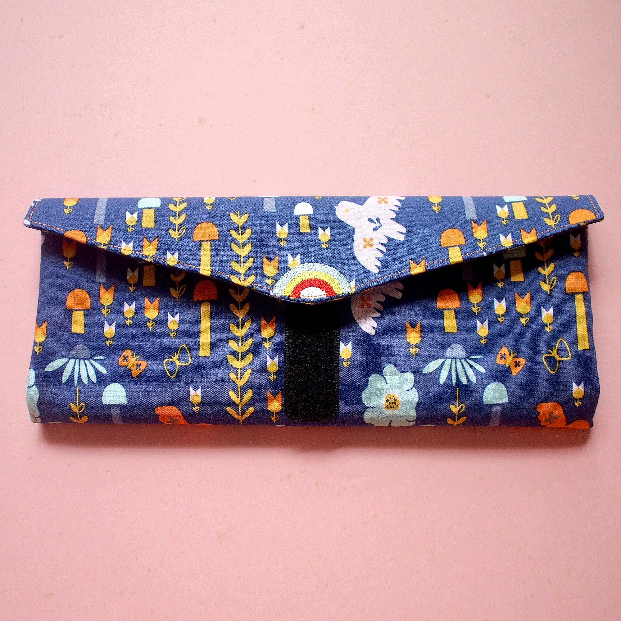 Utensils Pouch (2 Compartments) - Over The Rainbow (Scandinavian Forest)
