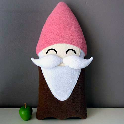 Plush Toy - Moustache Gnome Friend (Bigger)