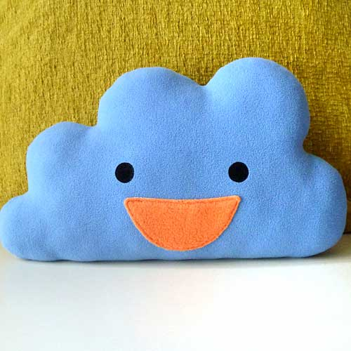 Plush Toy - Happy Cloud (Larger - 3 Colors)