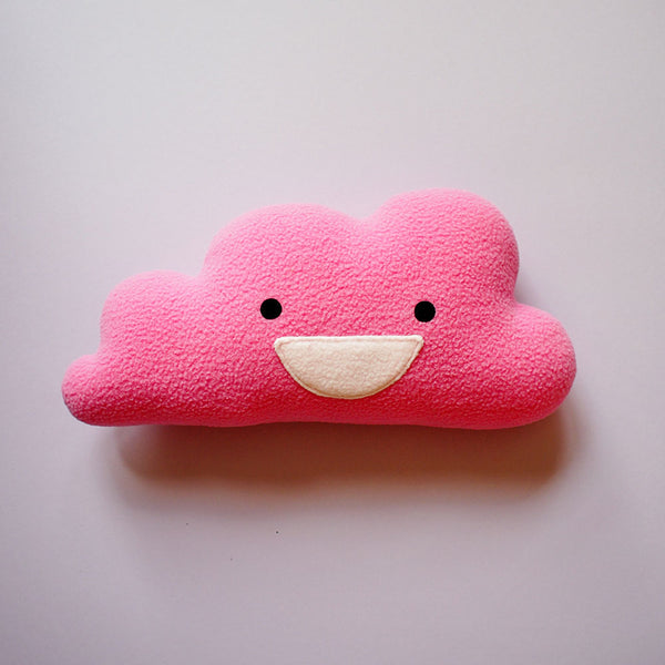 Plush Toy - Happy Cloud (Smaller - 4 Colors)