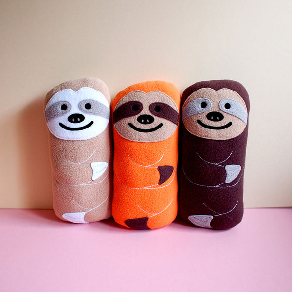 Plush Toy - Slothful Sloth (Smaller - 5 Colors)