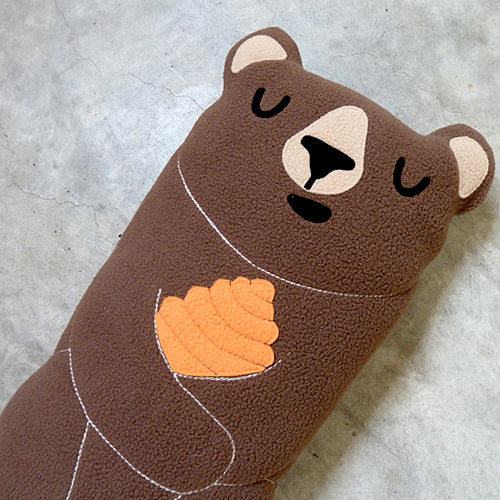 Plush Toy - Forest Honey Bear (Bigger - 3 Colors)