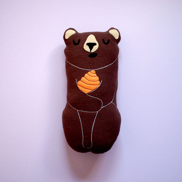 Plush Toy - Forest Honey Bear (Smaller - 3 Colors)