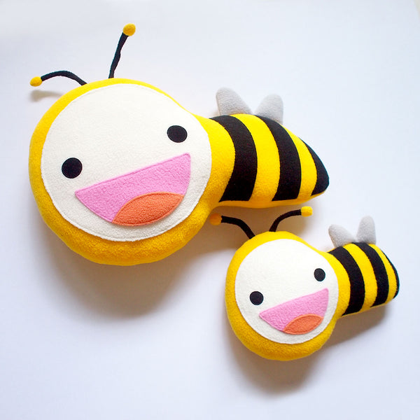 Plush Toy - Busy Buzzy Bee (Bigger)