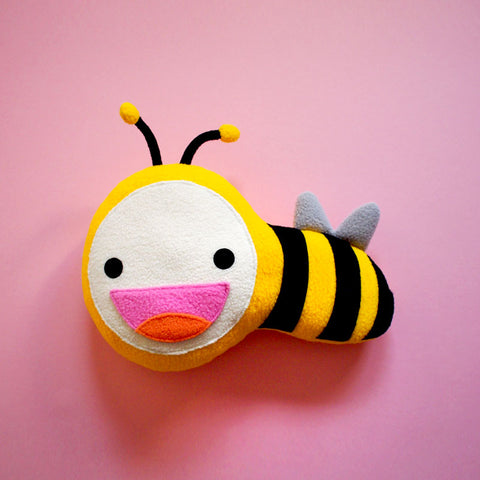 Plush Toy - Busy Buzzy Bee (Smaller)