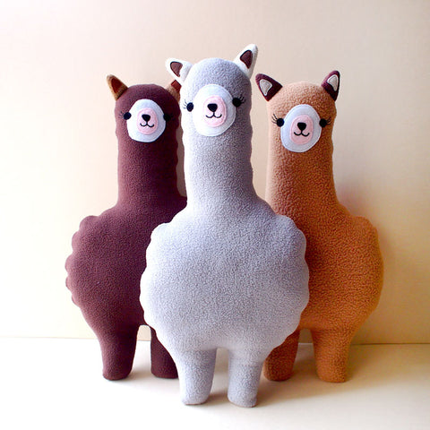 Plush Toy - Amigo Alpaca (Bigger - 4 Colors)
