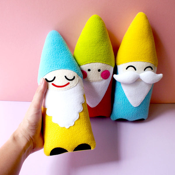 Plush Toy - Bashful Gnome Friend (Smaller - 2 Colors)