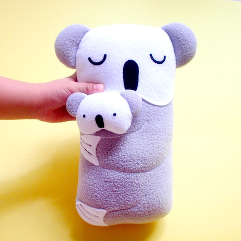 Plush Toy - Mother & Child Koala (Smaller)