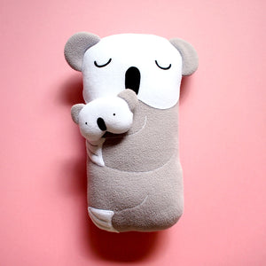 Plush Toy - Mother & Child Koala (Bigger)