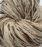 Hand Spun Eri and Peduncle Silk Yarn