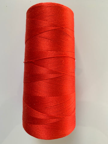 20/2 Mulberry Silk on Cones Red