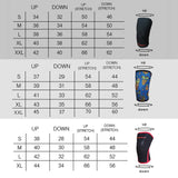 Compression Weightlifting Knee Support Sleeve